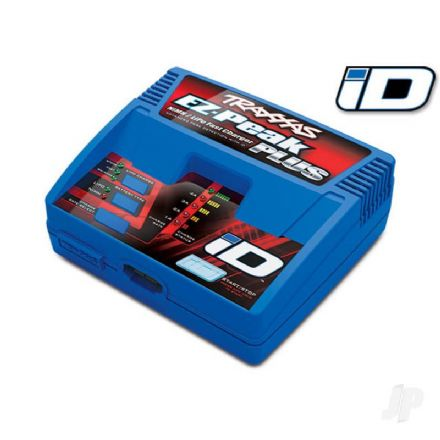 Traxxas Charger, EZ-Peak Plus, 4 amp, NiMH / LiPo with iD Auto Battery Identification